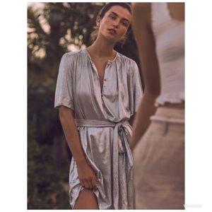 Anthropologie Sabina Musayev Mercury Shirt Dress